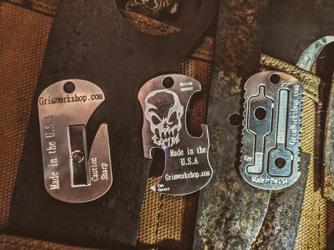 Emergency Escape and Evasion Dog Tag Survival Necklace-Grimworkshop-bugoutbag-bushcraft-edc-gear-edctool-everydaycarry-survivalcard-survivalkit-wilderness-prepping-toolkit