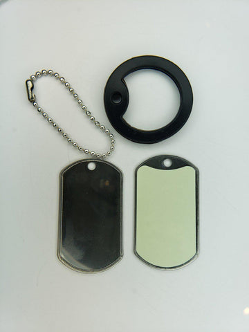 Image of Emergency Signal Dog Tag Survival Necklace-Grimworkshop-bugoutbag-bushcraft-edc-gear-edctool-everydaycarry-survivalcard-survivalkit-wilderness-prepping-toolkit