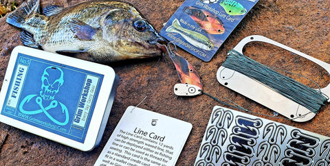 Fishing Lure Survival Card-Grimworkshop-bugoutbag-bushcraft-edc-gear-edctool-everydaycarry-survivalcard-survivalkit-wilderness-prepping-toolkit