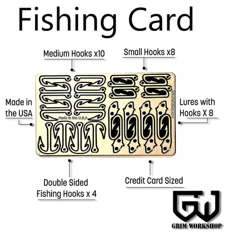 Fishing Survival Card-Grimworkshop-bugoutbag-bushcraft-edc-gear-edctool-everydaycarry-survivalcard-survivalkit-wilderness-prepping-toolkit