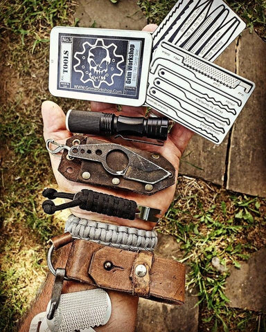 Grim Key Lock Picking and Escape Card-Grimworkshop-bugoutbag-bushcraft-edc-gear-edctool-everydaycarry-survivalcard-survivalkit-wilderness-prepping-toolkit