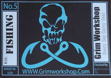 Grim Tin Fishing Kit Sticker-Grimworkshop-bugoutbag-bushcraft-edc-gear-edctool-everydaycarry-survivalcard-survivalkit-wilderness-prepping-toolkit