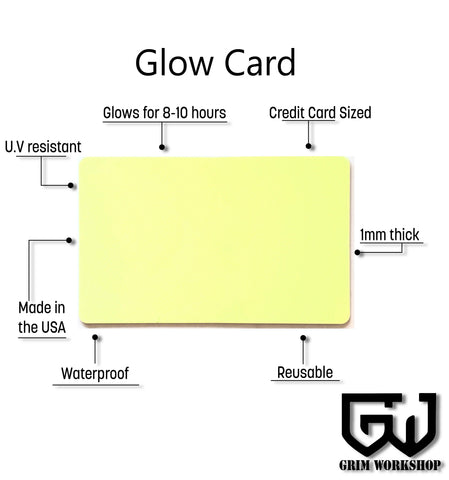 Rechargeable Glow Card-Grimworkshop-bugoutbag-bushcraft-edc-gear-edctool-everydaycarry-survivalcard-survivalkit-wilderness-prepping-toolkit