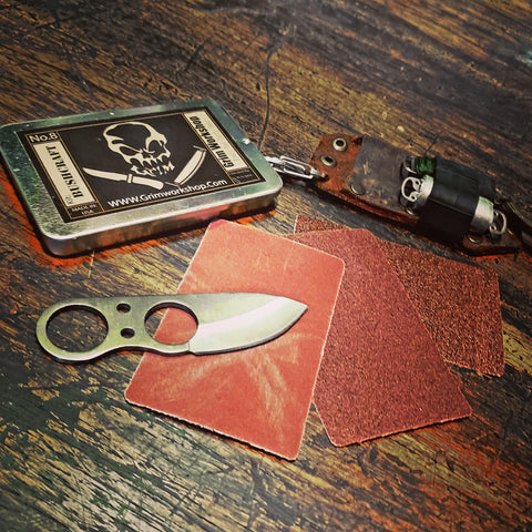 Sharpening And Maintenance Card-Grimworkshop-bugoutbag-bushcraft-edc-gear-edctool-everydaycarry-survivalcard-survivalkit-wilderness-prepping-toolkit