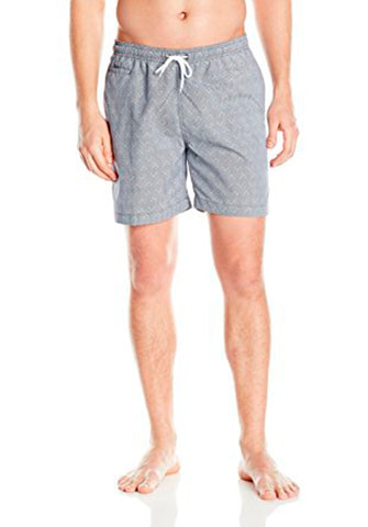 San O Short in Marine & White - Front | Trunks Surf & Swim Co. | Kallone Intimi