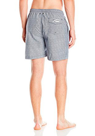 San O Short in Marine & White - Back | Trunks Surf & Swim Co. | Kallone Intimi
