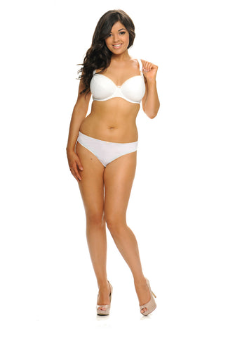 Curvy Kate Daily Boost Bra in White | Kallon̩ Intimi