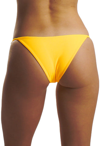 Gabby Bottom in Sunshine - Back | Cheeks Swimwear | Kallone Intimi
