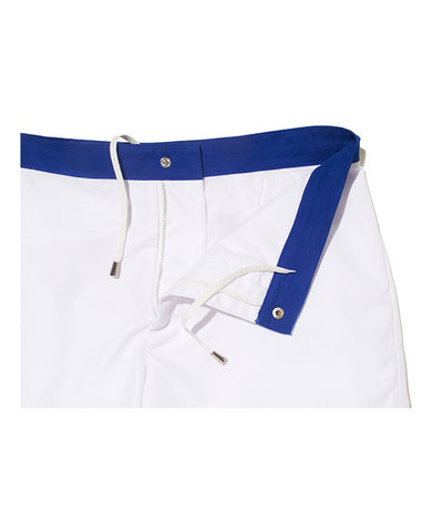 Komocean Revel Trunks in White & Cobalt | Kallon̩ Intimi-1