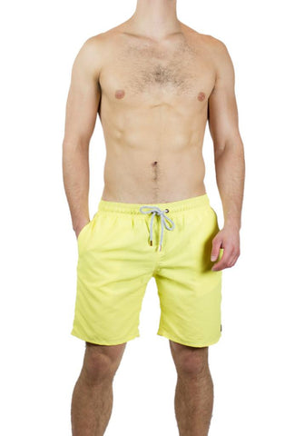 Retromarine - Trunk in Neon Yellow