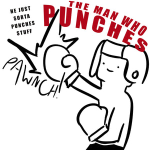 punching man short sleeve t-shirt