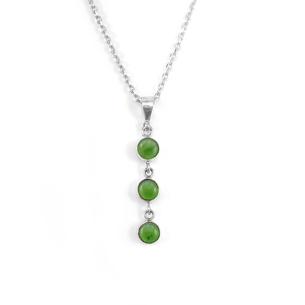 Pounamu 3 Muses Necklace