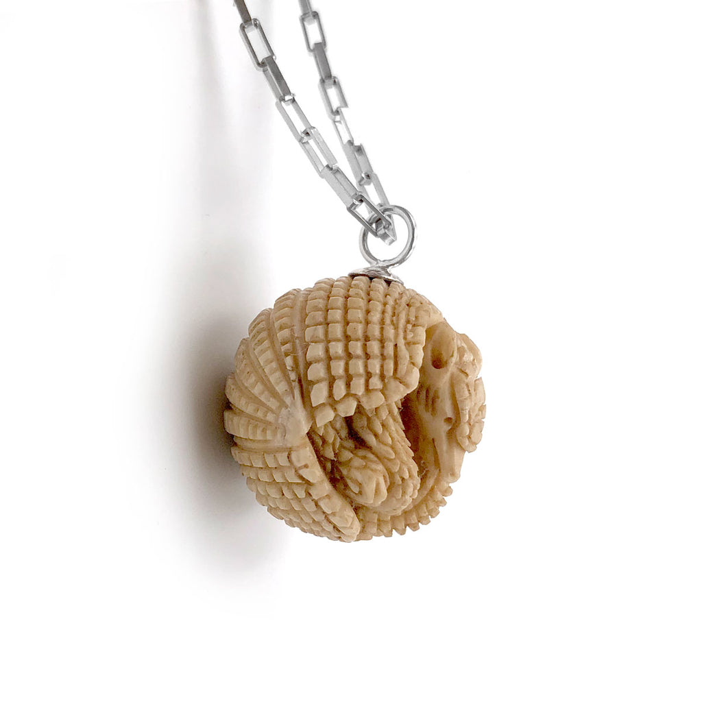 Armadillo Ball Pendant