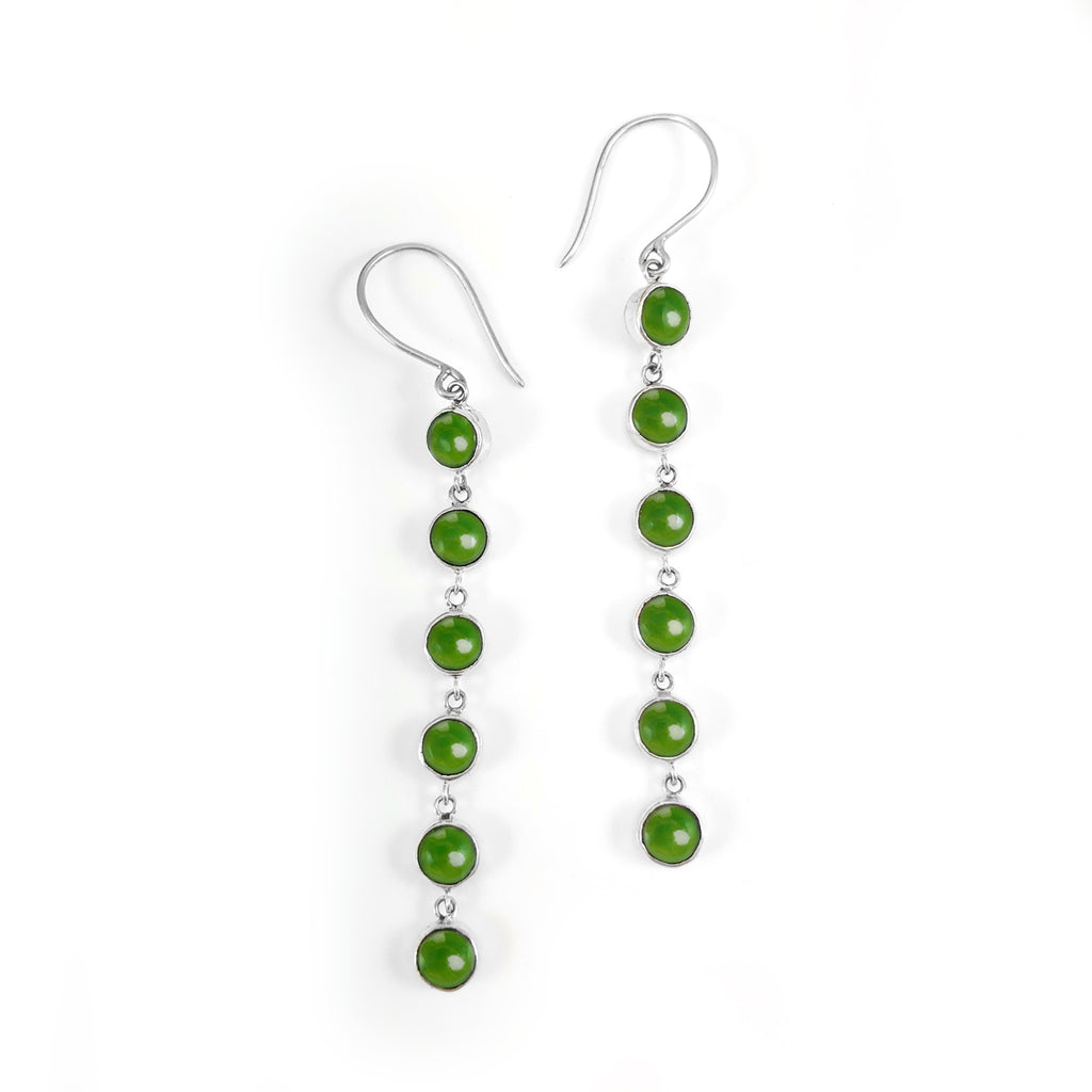 Pounamu Babylon Earrings