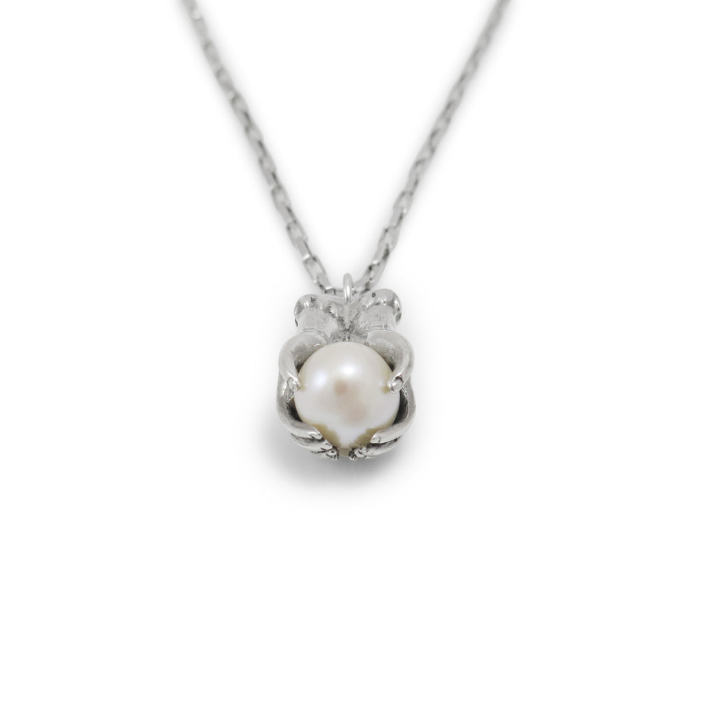 Pearl crystal ball pendant nick von k pearl crystal ball pendant aloadofball Images