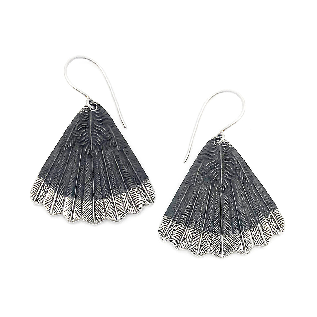 Huia Fan Earrings