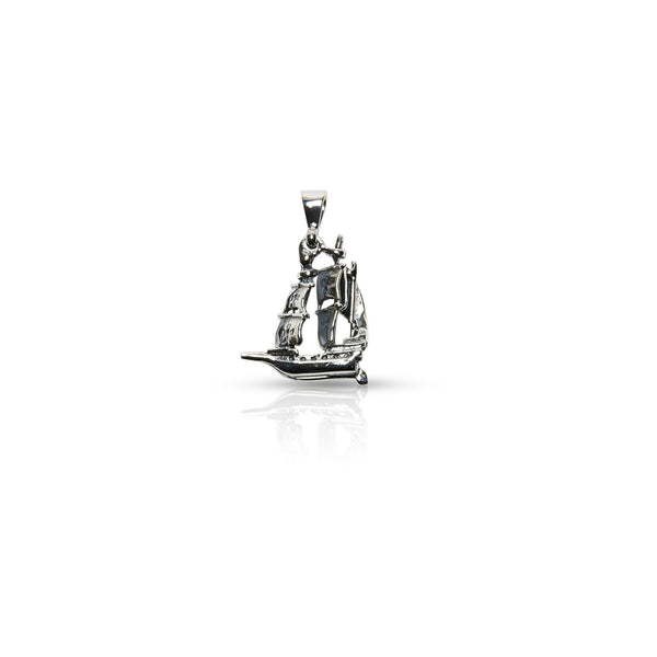 Stg Silver Galleon Charm