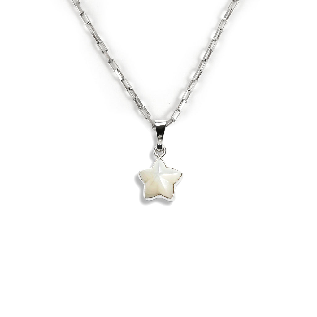 Mother of Pearl Star Charm
