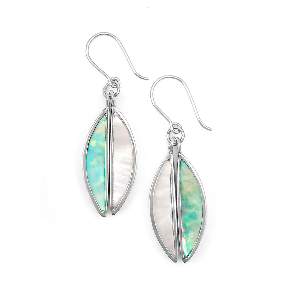 Antipodes Earrings Mother of Pearl / Paua