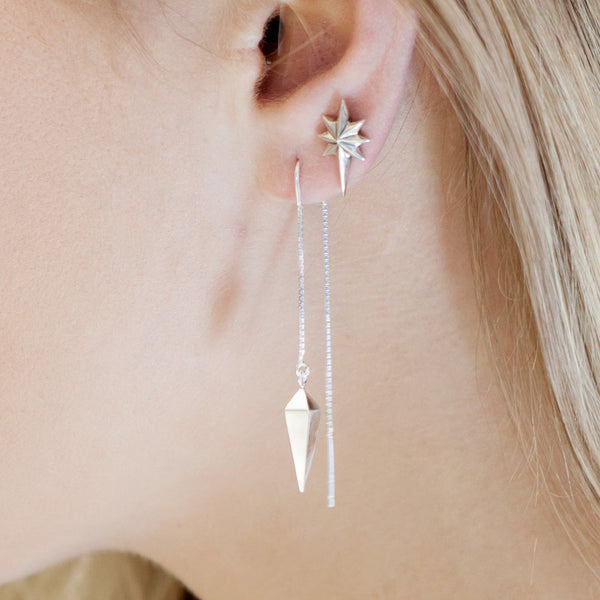 Star Pendulum Earrings