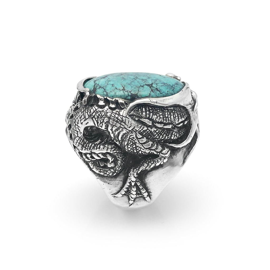 Turquoise Dragon Ring