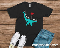 Infant-Adult You Make My Heart Saur Graphic Tee