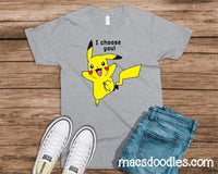 Infant-Adult I Choose You Graphic Tee