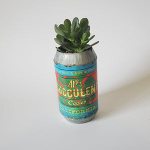 Vintage Tin Can Succulent