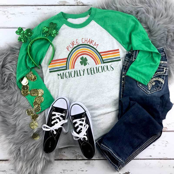 Youth & Adult Magically Delicious Graphic Raglan