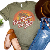 Youth & Adult Here Comes the Sun Graphic Tee