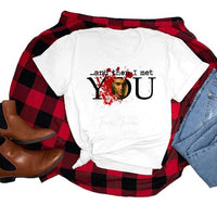 All Sizes And Then I Met You Graphic Onesie/Tee