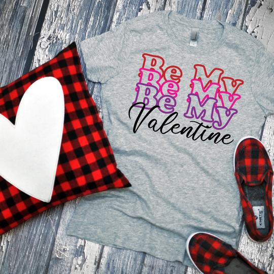 Youth & Adult Be My Valentine Graphic Tee