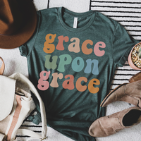 Youth & Adult Grace Upon Grace Graphic Tee