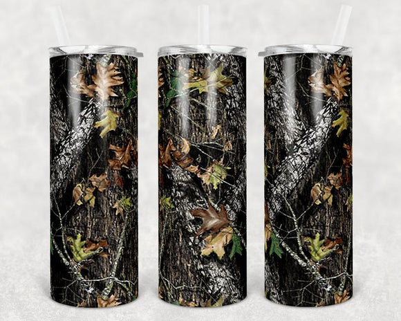 Camo Stainless Steal Tumbler