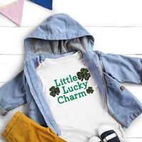All Sizes Lucky Little Charm Leopard Graphic Onesie or Tee