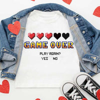 All Sizes Game Over Graphic Onesie/Tee