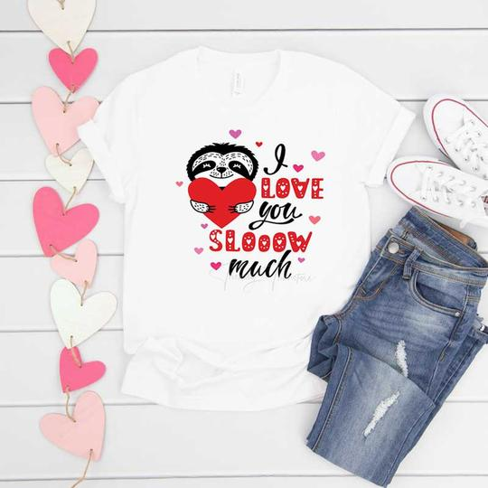 All Sizes I Love You Slow Much Graphic Onesie/Tee