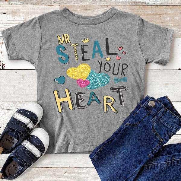 Toddler & Youth Mr Steal Your Man Graphic Tee