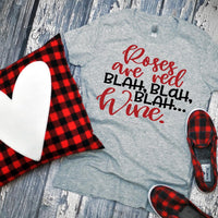 Adult Wine Valentine Graphic Tee