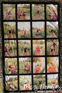 Personalized Picture Blanket