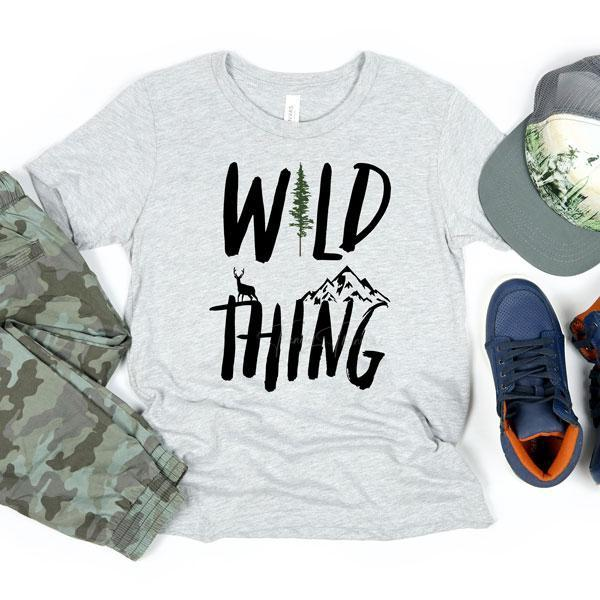 YOUTH Wild Thing Tee or Sweatshirt