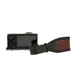 CUSTOM CLASSIC BROWN VINTAGE WRIST CAMERA STRAP HEAVY LEATHER NYC MADE IN THE USA MIRRORLESS DSLR PHOTOGRAPHY PHOTOGRAPHER PHOTO LENSE OUTDOOR ADVENTURE WEDDING FOTO