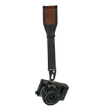 CUSTOM CLASSIC WRIST BROWN VINTAGE CAMERA STRAP HEAVY LEATHER NYC MADE IN THE USA MIRRORLESS DSLR PHOTOGRAPHY PHOTOGRAPHER PHOTO LENSE OUTDOOR ADVENTURE WEDDING FOTO