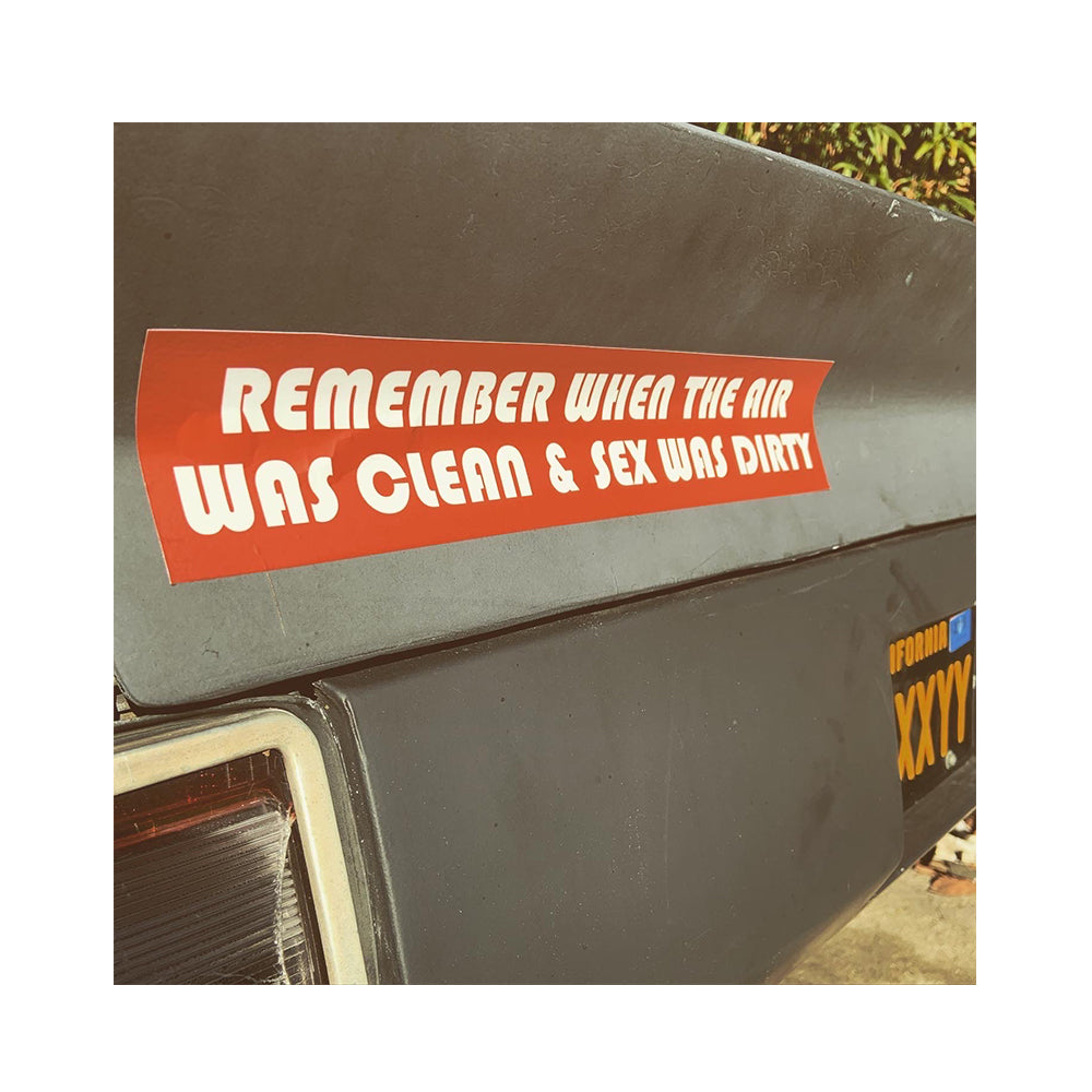 LIMITED EDITION CLEAN AIR BUMPER STICKER