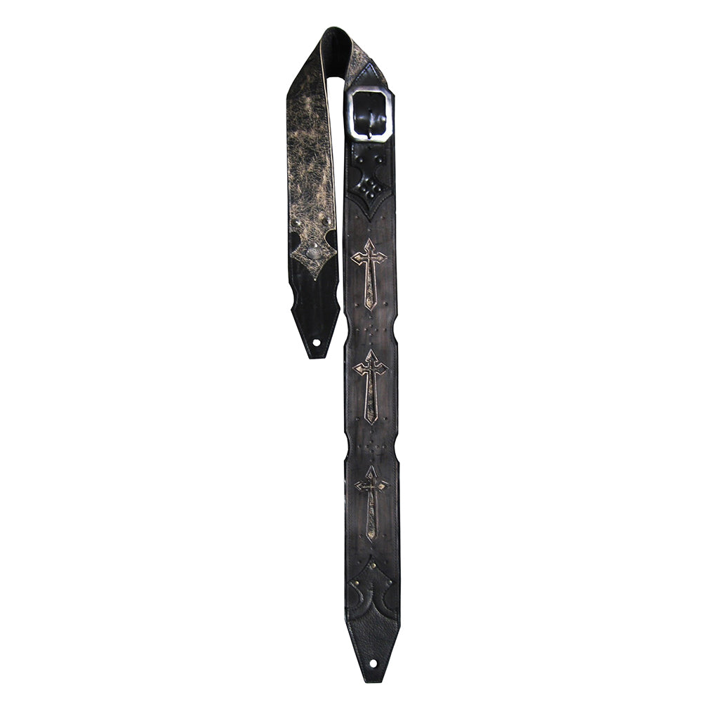 TONY IOMMI CARVED CROSS TOUR STRAP
