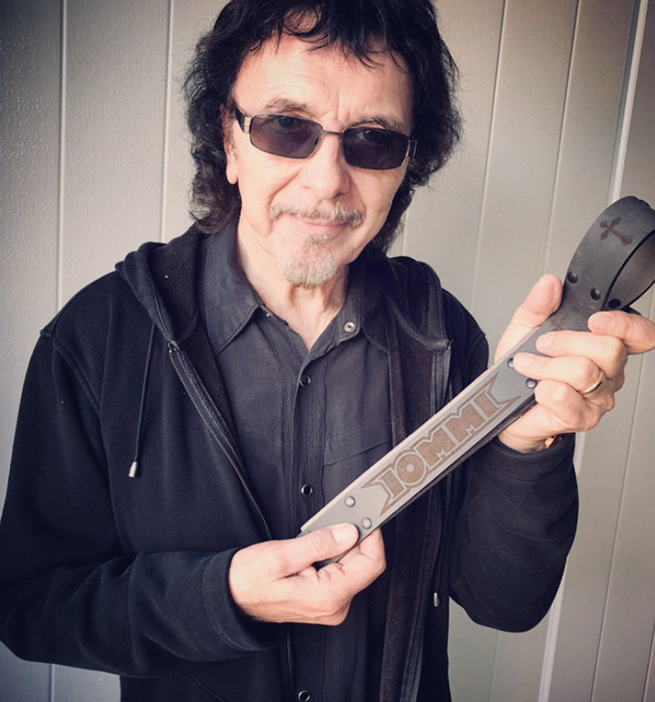 TONY IOMMI SIGNATURE IRON CROSS BELT