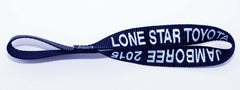 Custom winch hook pull strap, lead, handle - (2 sided embroidery)