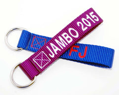 Mini strap key chain