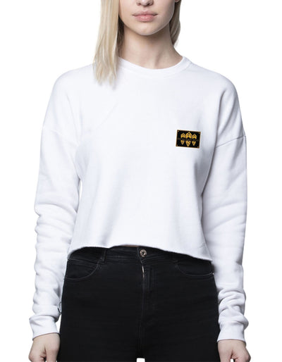 CROP TOP SWEATSHIRTS