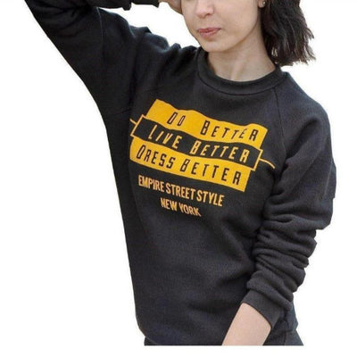 UNISEX TRI-BLEND SWEATER (SALES) - Empire Street Styleeco-friendly, crop top, t-shirts, leggings, hoodies, joggers, dress.
